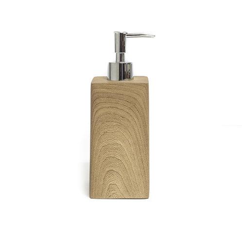 Faux Wood Soap Dispenser