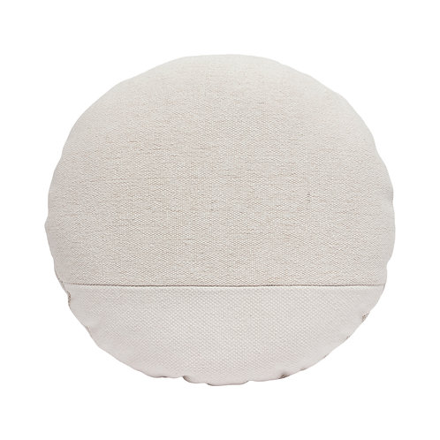 Round Canvas Pillow