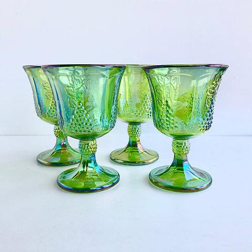 Green Goblets #1 - Set of 4