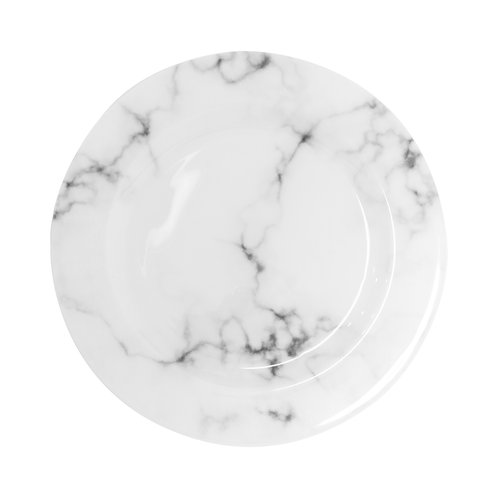 Marble Charger Plates - Set of 5