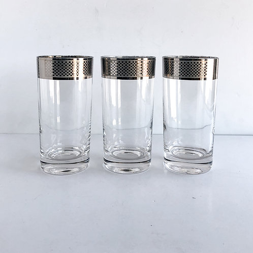 Colored Mid-Century Tumblers #31 - Set of 3