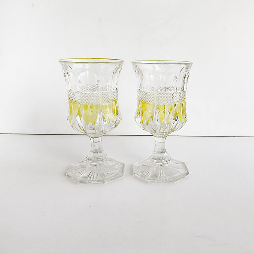Yellow Goblets #1 - Set of 2