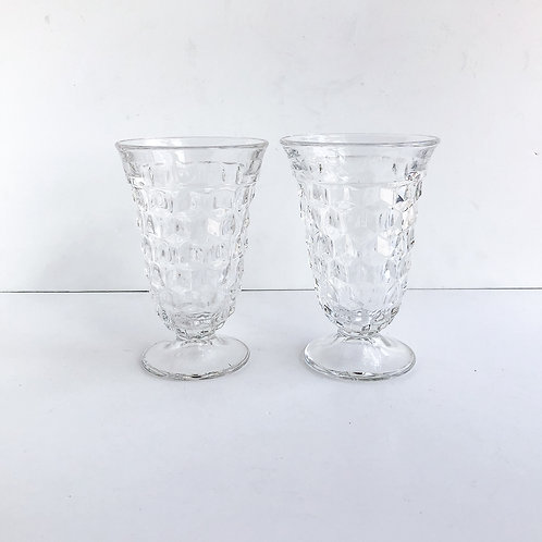 Clear Goblets #15 - Set of 2