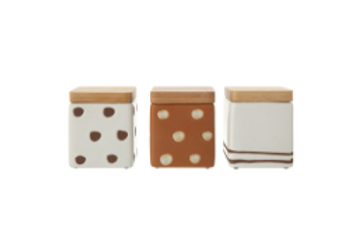 Vermille Containers - Set of 3