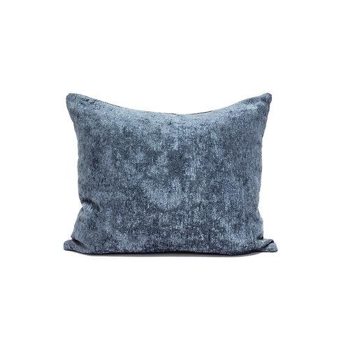 Blue Chenille Pillow