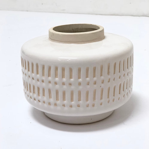 Neutral Ceramic Vessel No. 6
