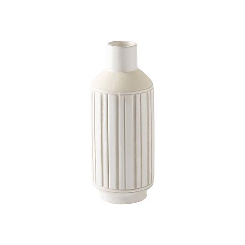 Neutral Ceramic Tall Vessel No. 1