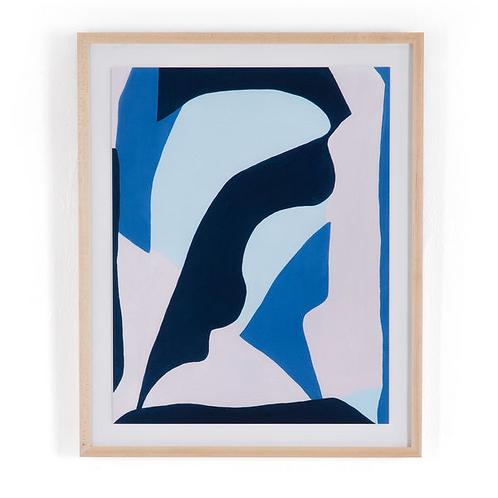 Blue No. 8 by Kelti Smith - 26x32