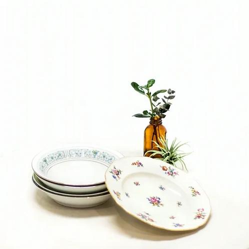 Mix & Match Floral Soup Bowls - Set of 10