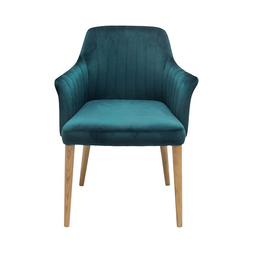 Cole Chair  - Peacock