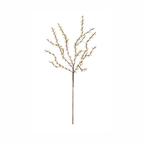 Faux White Branches - Set of 2