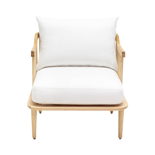 White Lucille Chairs - Set of 2