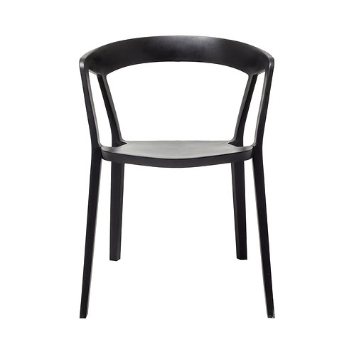 Black Tribeca Dining Chairs - Set of 4