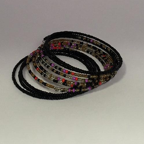 Black & Multi Bracelet