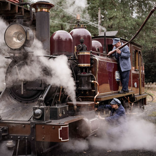 Full Size Tony Evans Photo-Puffing Billy
