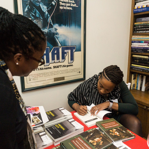 Book signing event with the keynote speakers Carla Shedd and Elizabeth Pryor