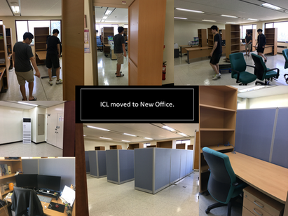 ICL moved to New Office.