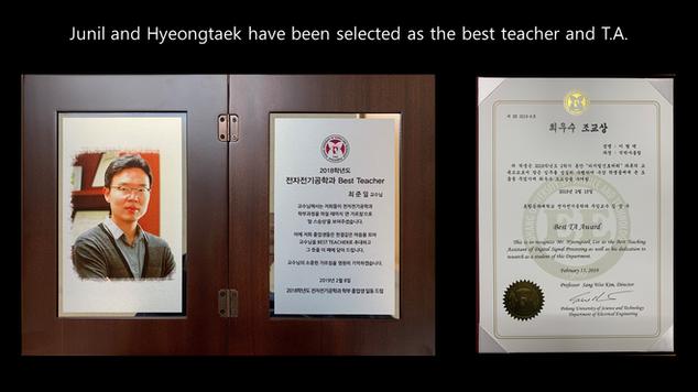 Best teacher and T.A.