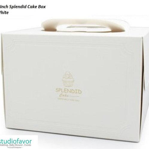 "4"" Splendid Cake Box"