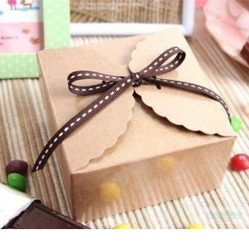 Brownie/ Candy Box Kraft