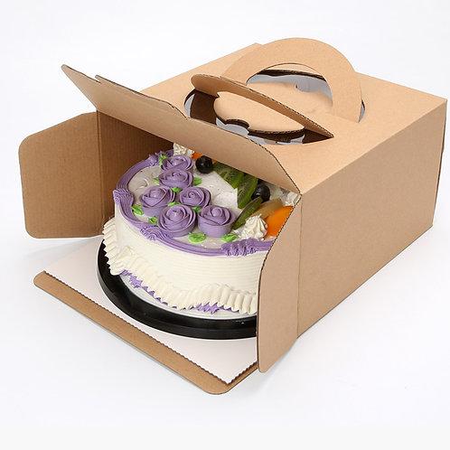 Large Cake Box Kraft