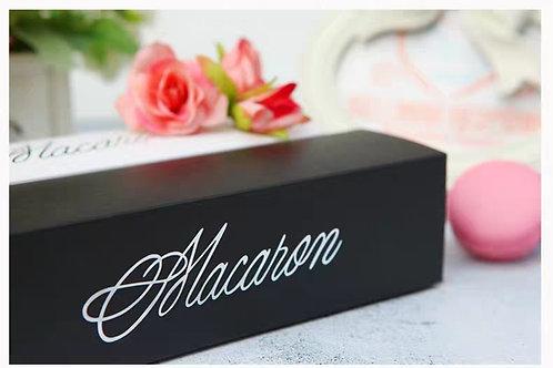 Jazy Macaron Box Classic Black(Long)