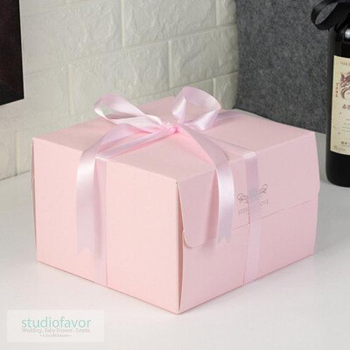 """8"""" Color Cake Box"""