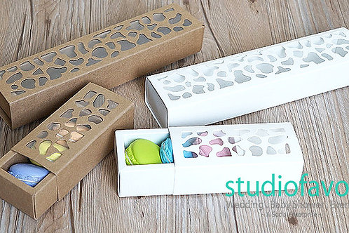 Short Macaron Box