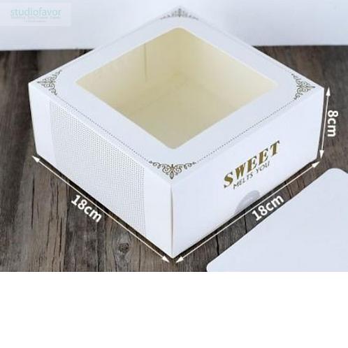 "Korean Style ""Sweet"" Cake Box"