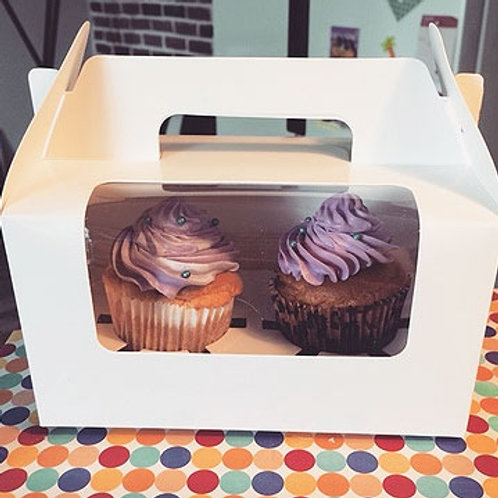 Two Cupcake Box