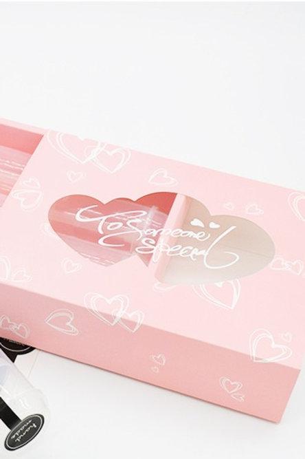 Hearts Flat Box