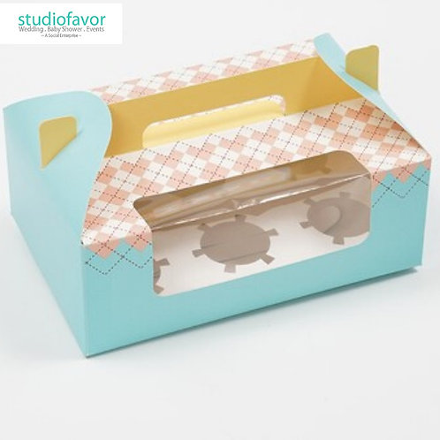 6 Cupcake Box