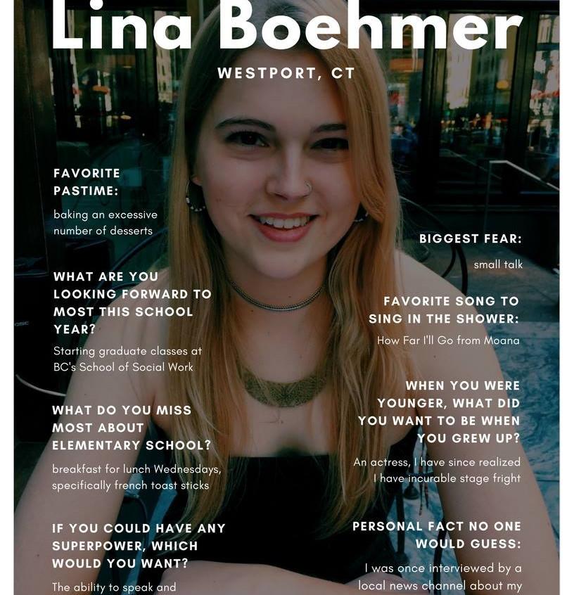 Lina Boehmer '19