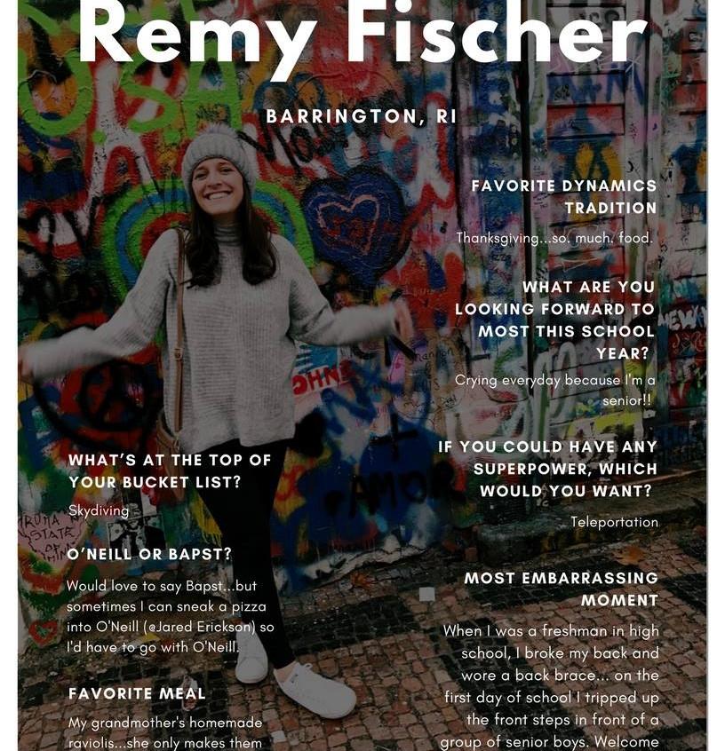 Remy Fischer '18