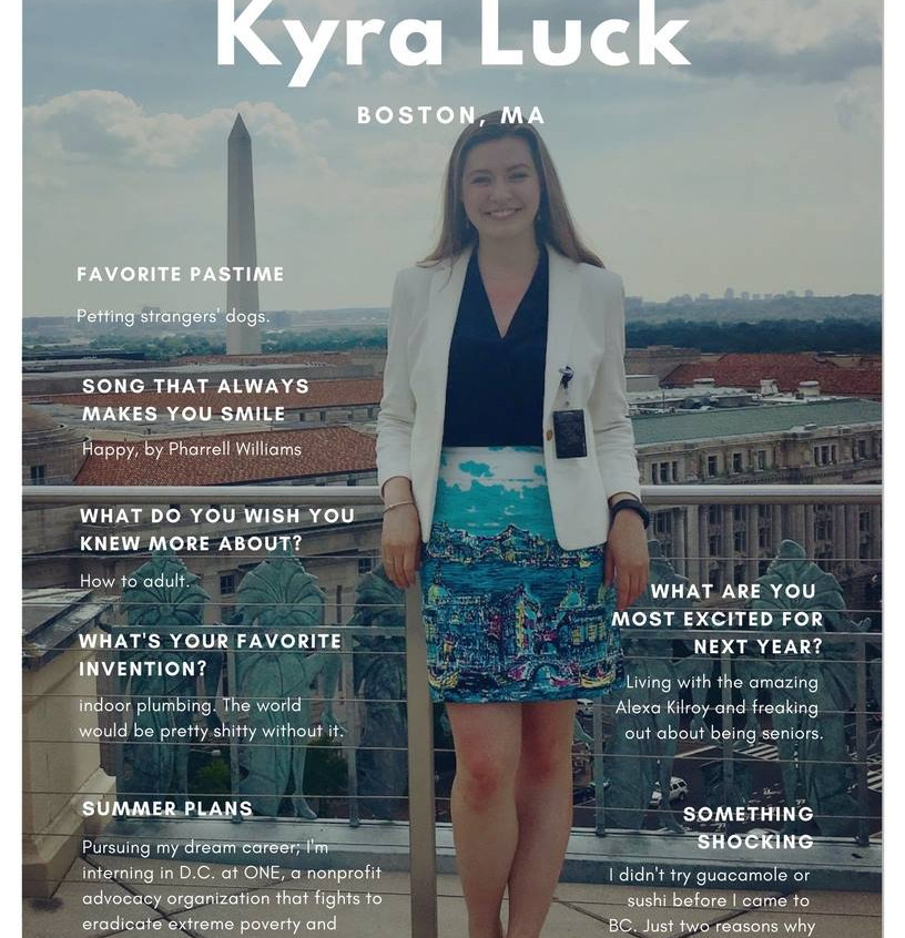 Kyra Luck '18