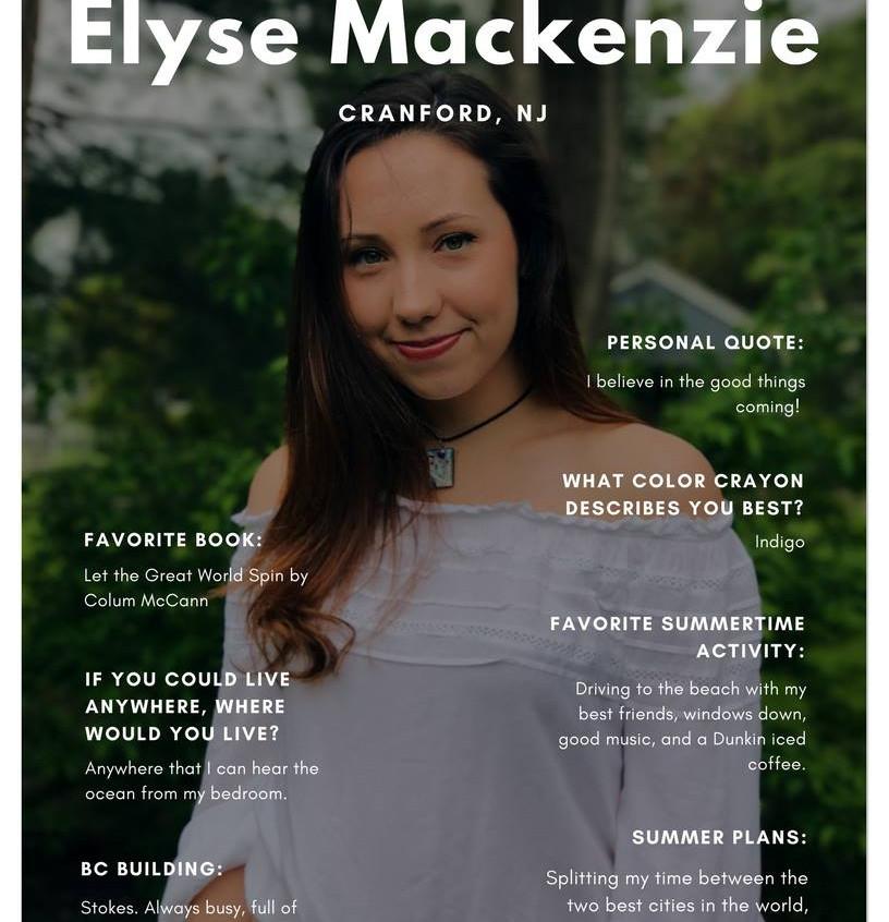 Elyse Mackenzie '19