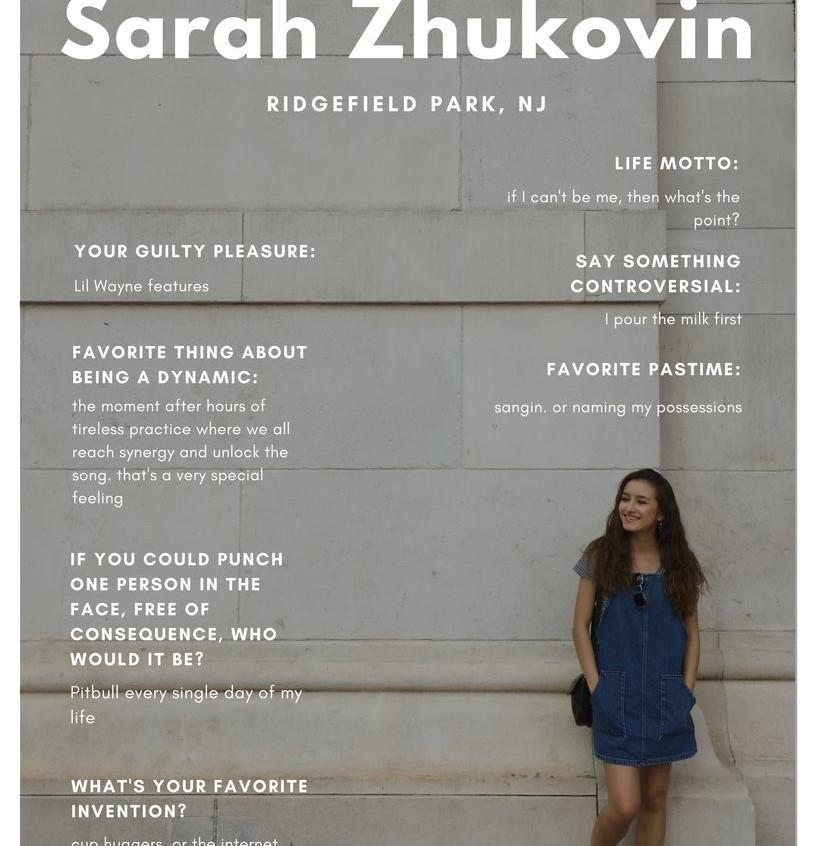 Sarah Zhukovin '18