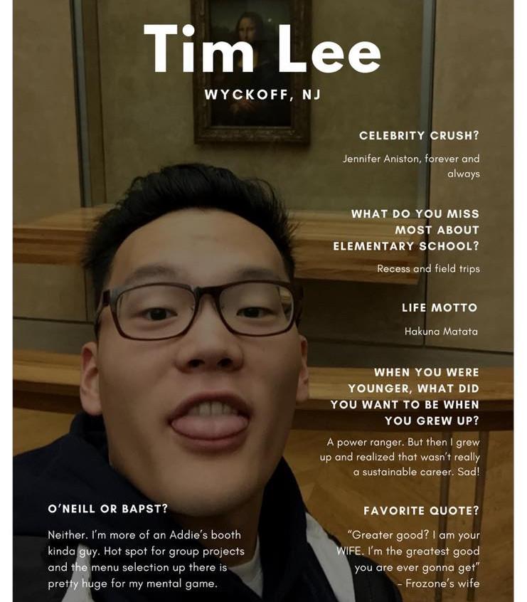 Tim Lee '18