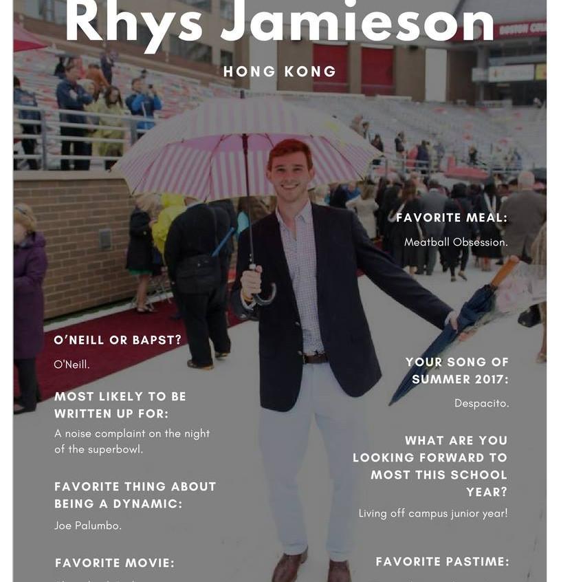 Rhys Jamieson '19