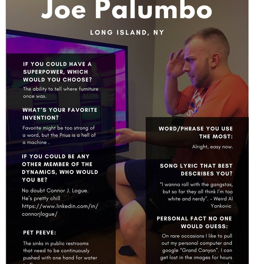 Joe Palumbo '18