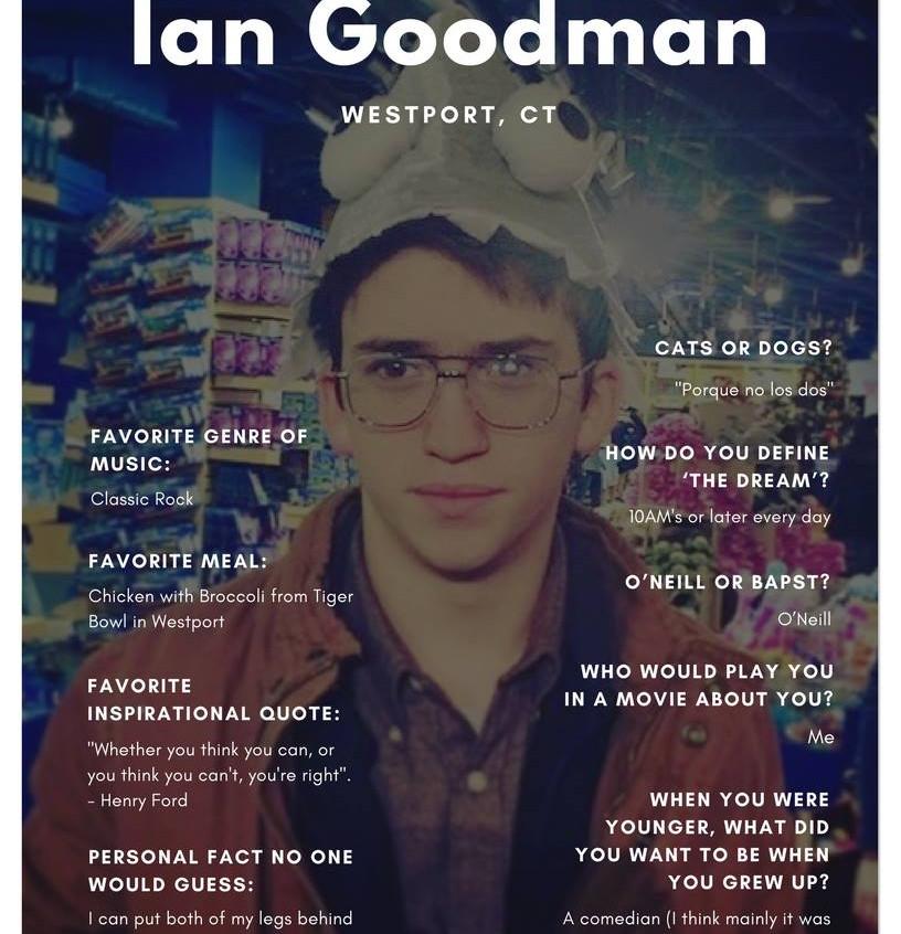 Ian Goodman '19