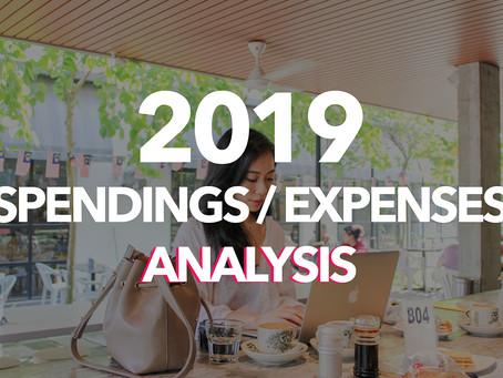 Marion's 2019 Spendings / Expenses Analysis