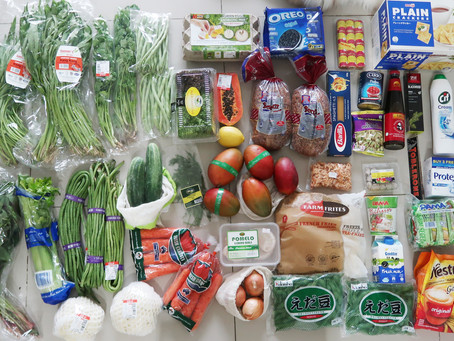 Once a Month Grocery Haul July 2020