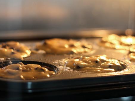 Banana Bread Muffins! 🍌
