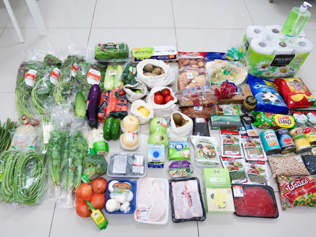 Once a Month Grocery Haul May 2020