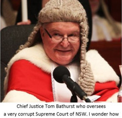 Chief Justice Bathurst has journalist charged with contempt for accusing him of corruption