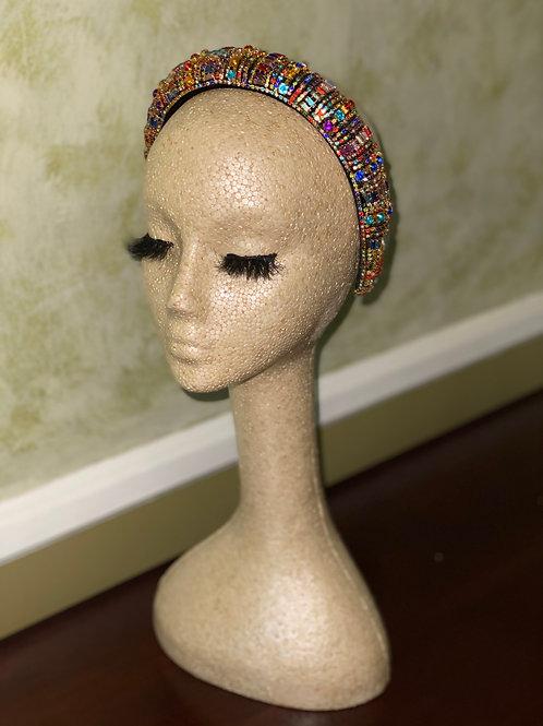 Multi-Color Crystal Headband