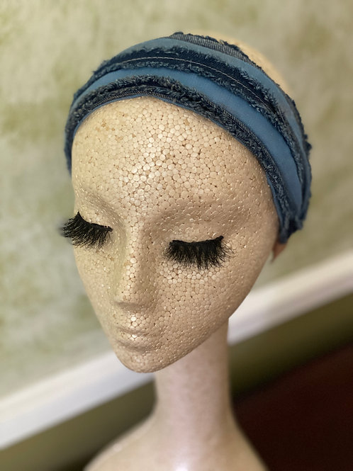 Dark Denim Headband
