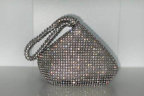 Drippin' Diamonds Handbag (silver)