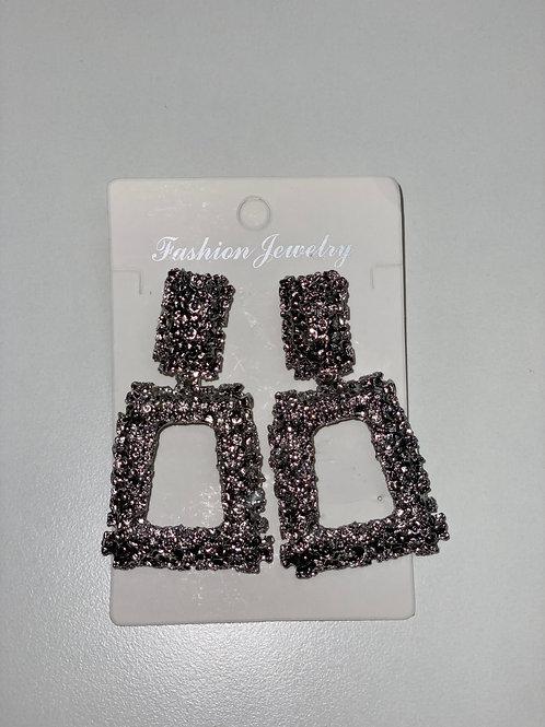 It's A Date (Silver) Earrings